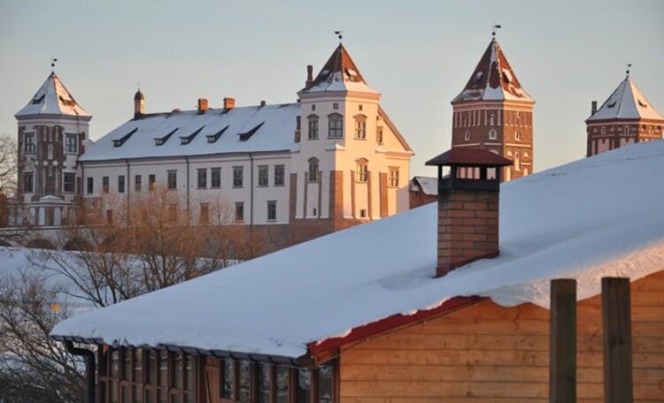 "Estate ""Zamkovoe predmestie"" (""Castle suburb""), Усадьба «Замковое предместье» возле Мирского замка"