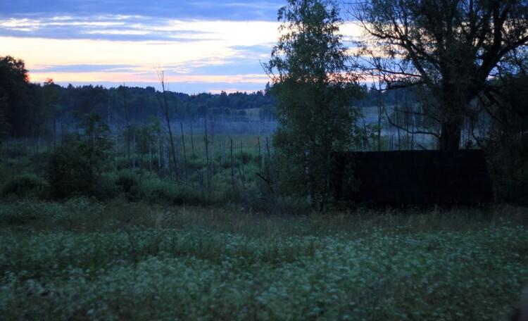 Арт-деревня Каптаруны. Вечер