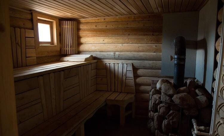 Усадьба «Солнечный угол», Усадьба Солнечный угол. Баня на дровах. Отдых в Беларуси.