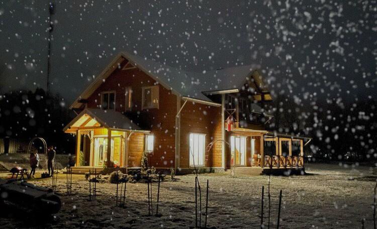 Агроусадьба «На просторе», Вас встречает наш уютный дом!