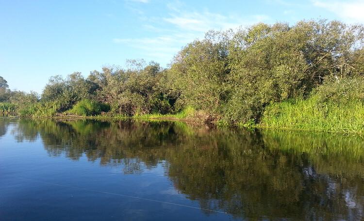 Где покататься на лодке по реке в Белоруссии. Усадьба Березинская мечта
