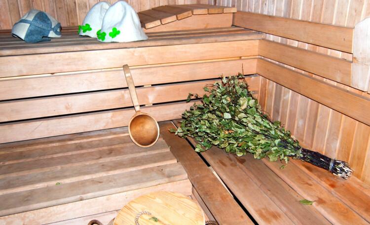 "Homestead ""Sosnovyiy Gai"" (""Pine grove""), первый этаж в бане"