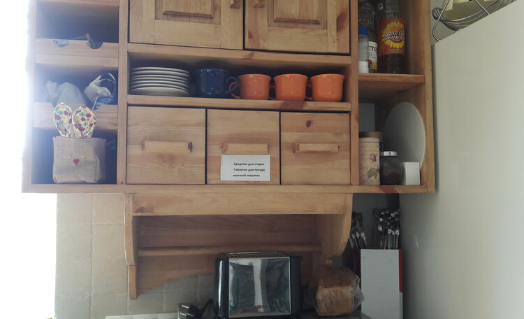 """Усадьба """"Лесная Паулiнка"""", кухня 1-го этажа"""