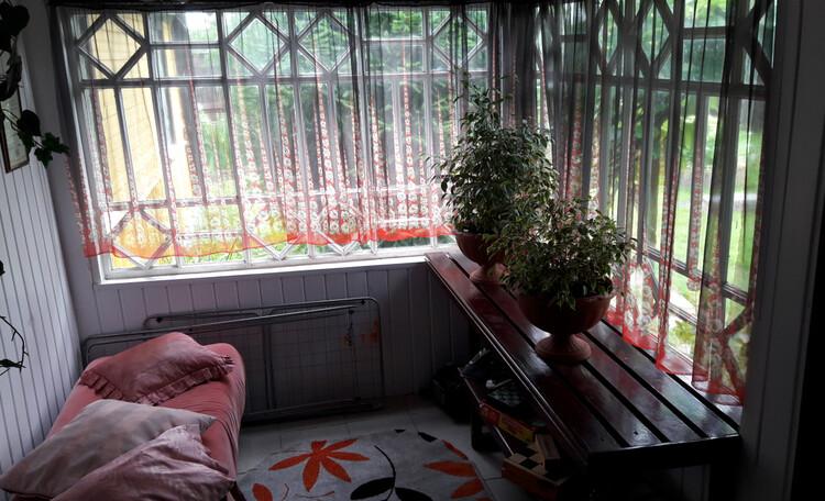 Березовый рай - отличное место для самоизоляции!, Закрытая веранда