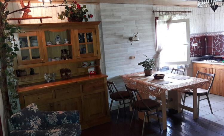Березовый рай - отличное место для самоизоляции!, Кухня-столовая