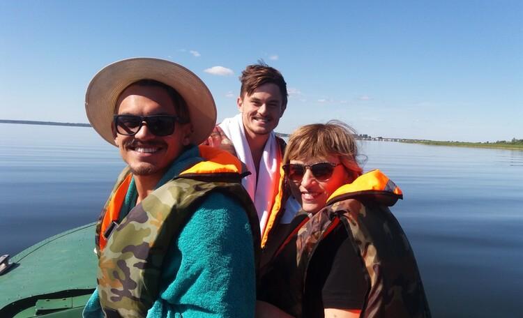 """Farmstead """"Ustie LIFE"""", Туристы из Израиля наслаждаются красотами Браславских озер"""