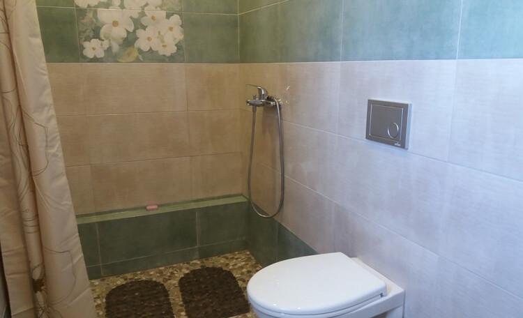 """Farmstead """"Ustie LIFE"""",  Совмещенный санузел - душ и туалет"""