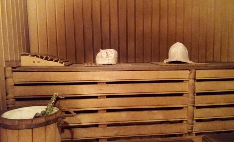 Усадьба «Устье LIFE», Банька на дровах....