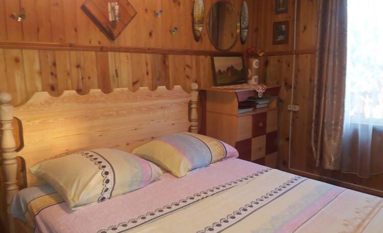 Усадьба «Устье LIFE», Спальня на первом этаже....Большая кровать 160х200 с ортопедическим матрасом