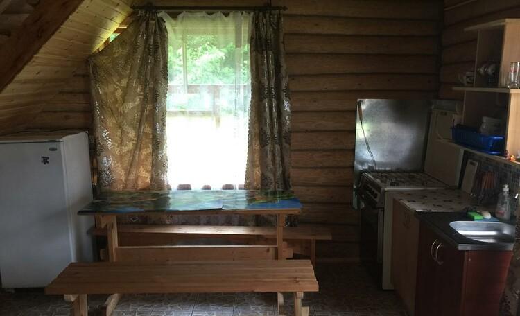 Агроусадьба «Мечта», 1 этаж малого дома(кухня).