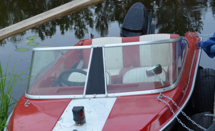 Агроусадьба «Галас», Моторная лодка для рыбалки, водных прогулок