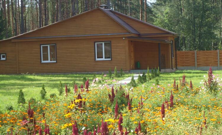 Домик охотника «Борисовский опытный лесхоз», гостевой домик