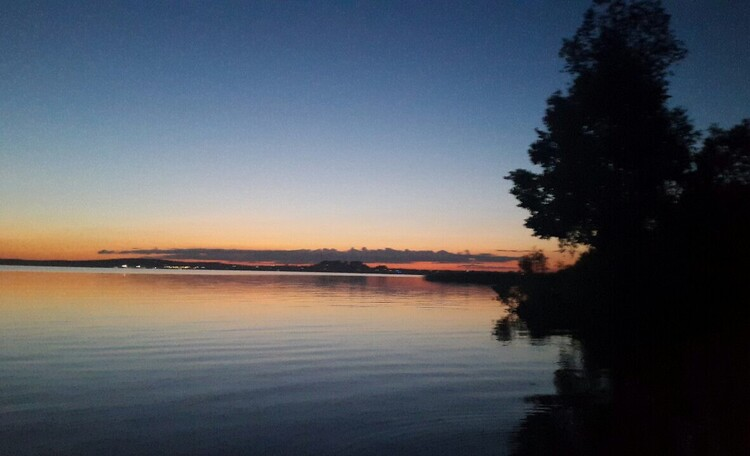 База отдыха «Васпан», На этот закат можно смотреть бесконечно