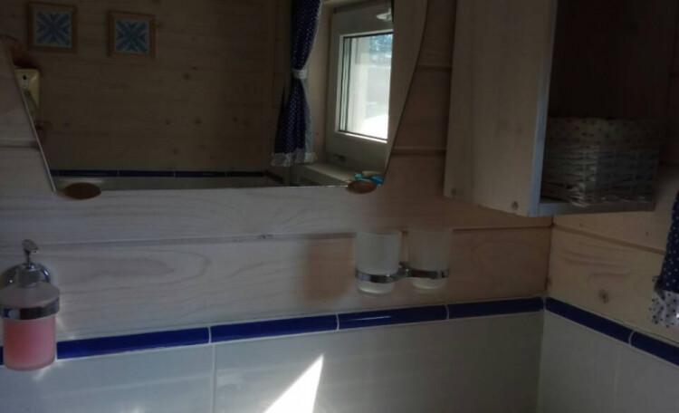 Усадьба «Боровики» (около с. «Радон»), Туалет с умывальником
