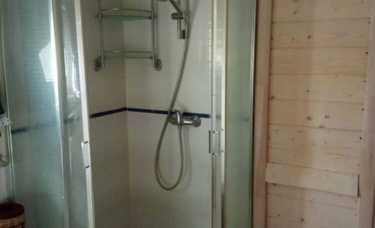 Усадьба «Боровики» (около с. «Радон»), Ванная комната с душем и парной