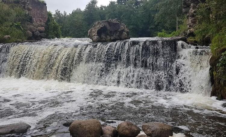 Агроусадьба «Ирина», Водопад на реке Вята