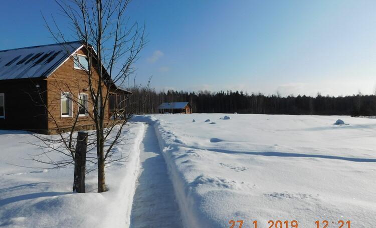Агроусадьба «Журавинка», Зимой в усадьбе тепло и комфортно.
