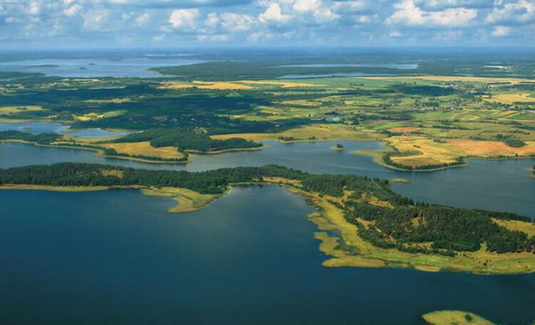 """Центр оздоровления и отдыха """"Полуостров сокровищ"""", Озеро (фото сделано Сергеем Плыткевичем)"""