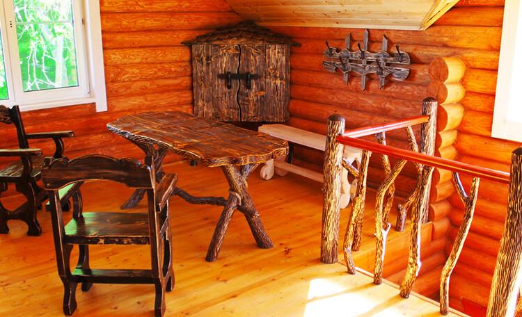 Усадьба «Солнечный угол», Коната отдыха на втором этаже бани. Усадьба Солнечный угол. Отдых в Беларуси.