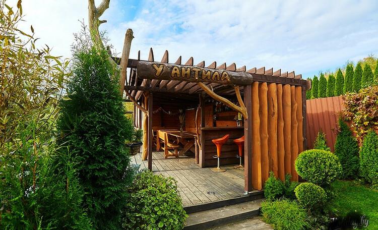 Домики  для двоих с бассейном и баней, Дом до 10 человек, квадроциклы, рыбалка , Беседка у пруда