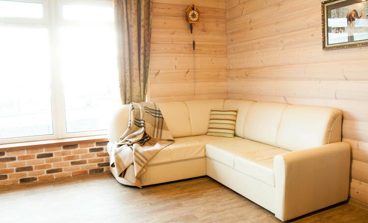 Агроусадьба «На просторе», Комната с двухспальной кроватью