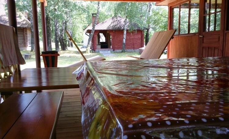 Аграсядзіба «Заезд Зубачи», Терраса бани