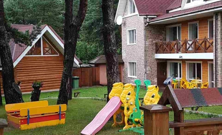 База отдыха «Васпан», Детская площадка всегда ждёт своих маленьких постояльцев