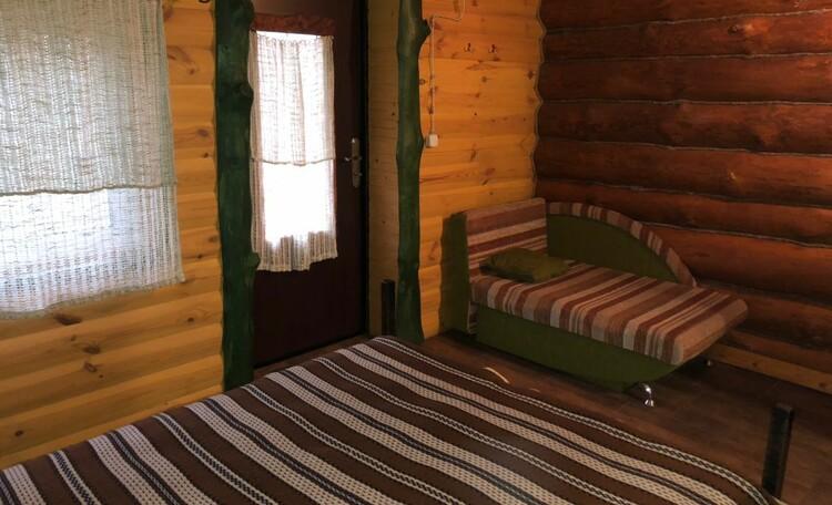 Агроусадьба «Узлянка» БАННЫЙ комплекс, Гостевая комната, примыкающая к домику