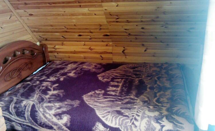 Агроусадьба «Домик в Устье», спальня на втором этаже большого дома