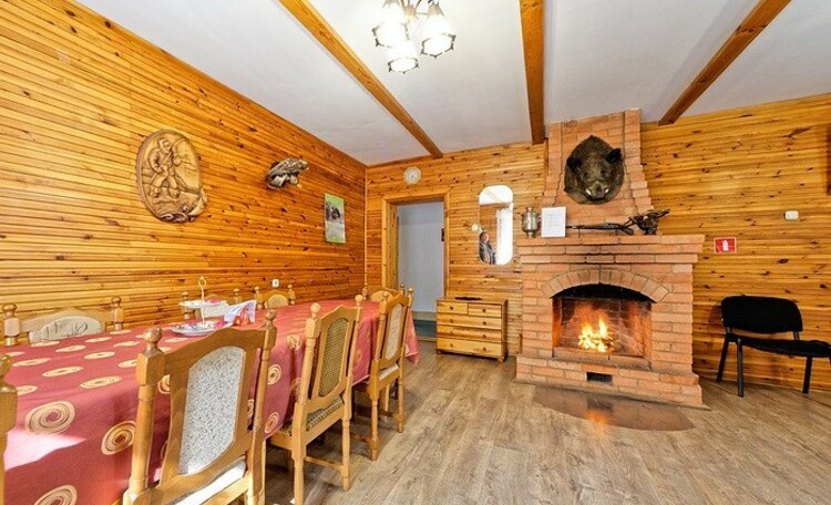 Дом охотника и рыболова «Вильчицы»