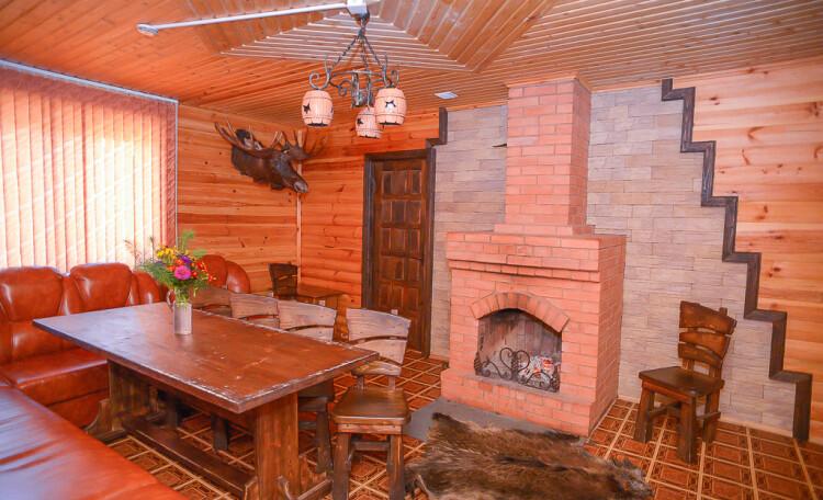 Домик охотника «Борисовский опытный лесхоз», охотничий дом, гостиная