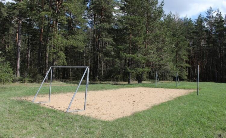 Агроусадьба «Павлиново», Спорт площадка