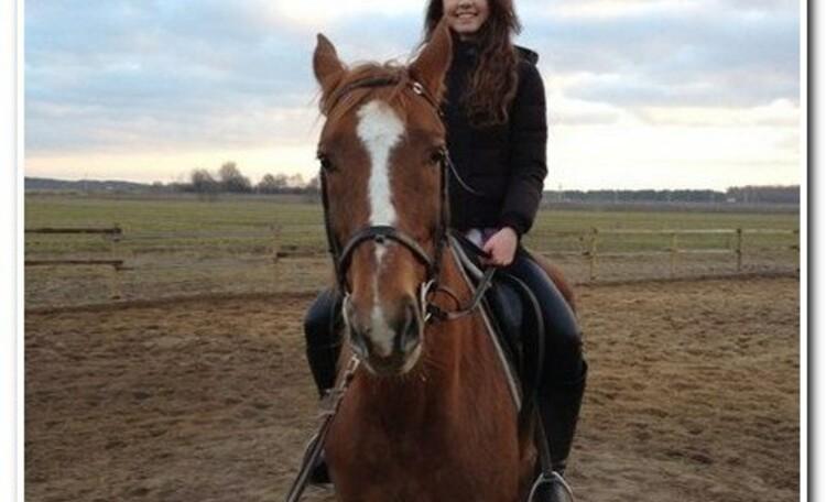 """Усадьба """"Солнечный домик""""  в Беловежской пуще, Катание на лошадях"""
