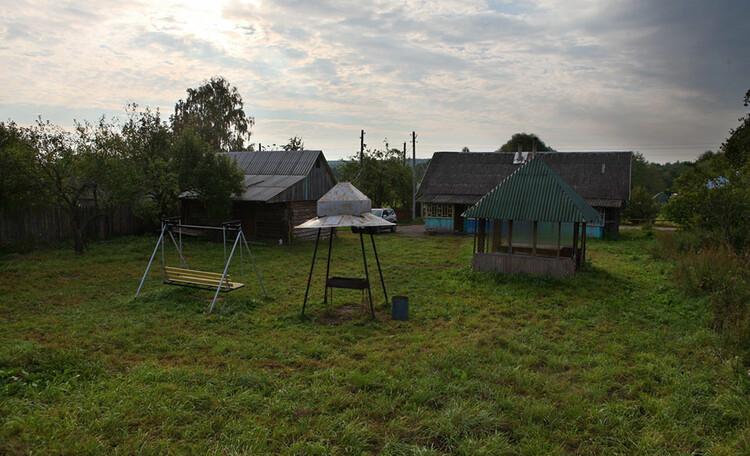 Усадьба «Востриковка». Дом №1. Территория заднего дворика