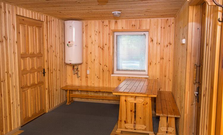 Домик охотника «Борисовский опытный лесхоз», комната отдыха в бане