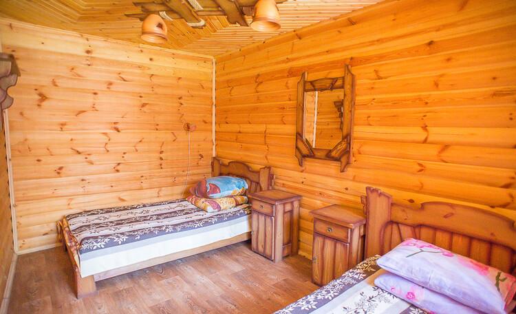 Домик охотника «Борисовский», вторая комната охотничьего домика