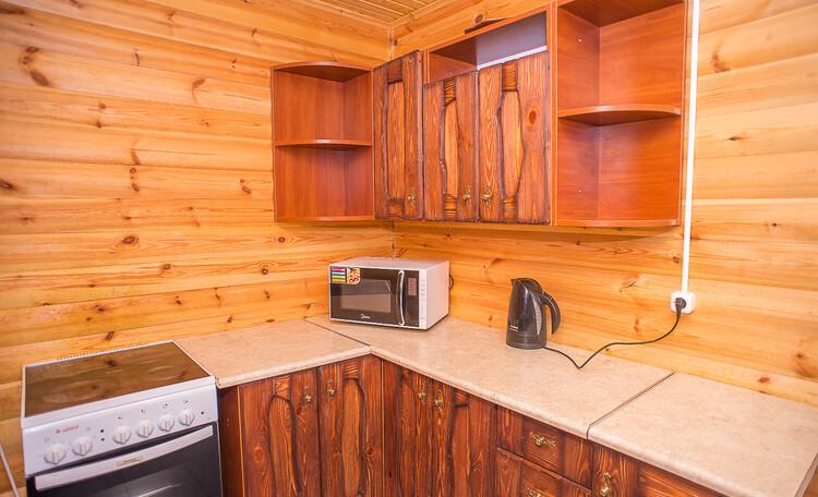 Домик охотника «Борисовский», кухня