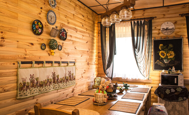 Усадьба Беловежская гостевая в Беловежской Пуще, Столовая