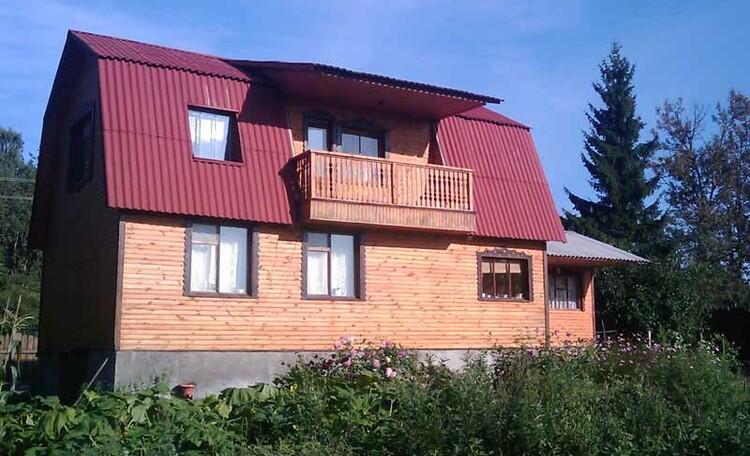 Усадьба «У Гавриловича», Двухэтажный гостевой дом усадьбы «У Гавриловича»