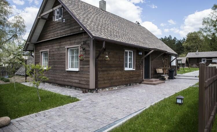 "Farmstead ""Domik v pusche"" (""House in the forest""), Гостевой домик."