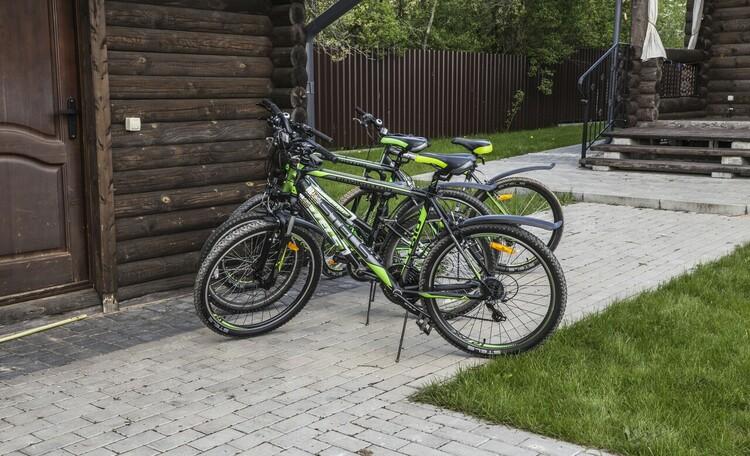 "Farmstead ""Domik v pusche"" (""House in the forest""), Велосипеды - бесплатно!"