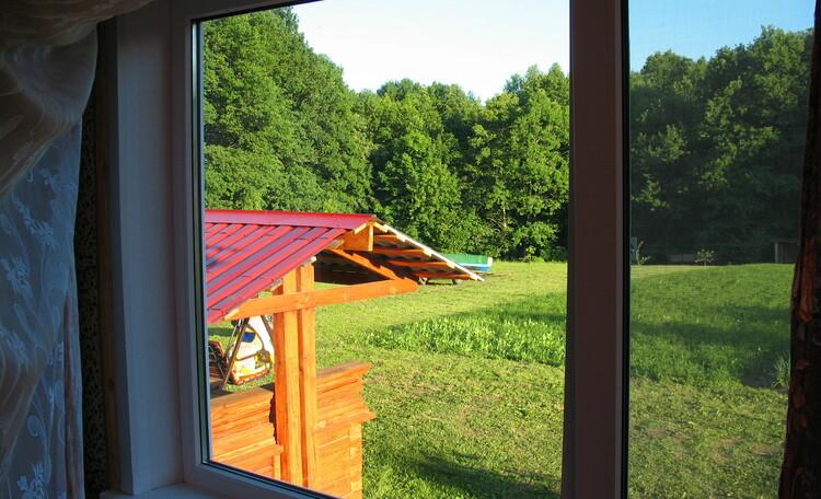 Дом №1. Вид из окна.