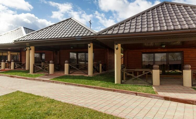 Braslav Lakes Hotel, ДОМИКИ С ОТДЕЛЬНЫМИ ТЕРРАСАМИ