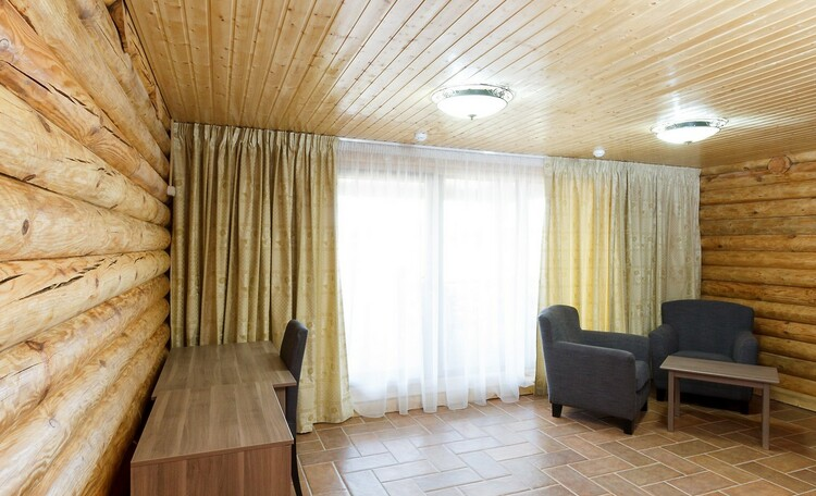 Braslav Lakes Hotel, Домик изнутри
