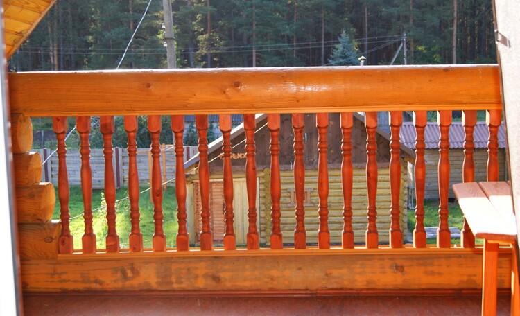 "Агроусадьба ""Сонечныя Бары"", балкон"