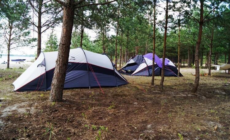 Ezera Park Hotel, 4х местные палатки у нас можно арендовать, кемпинг