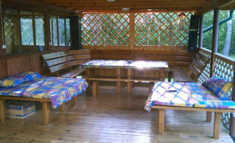 Агроусадьба «Заезд Зубачи», Терраса бани