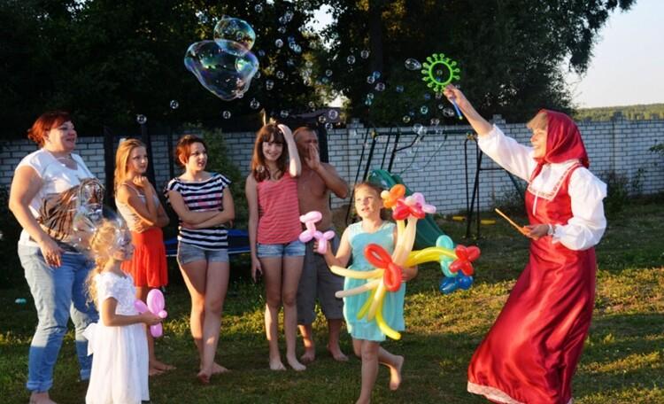 Усадьба «Чигиринское Предместье», Проведение детских праздников