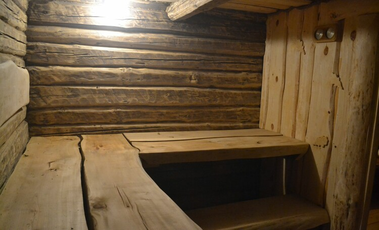 Дом-Баня Хоббита уникальное сооружение под землей