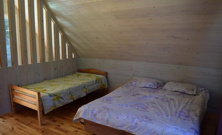 Усадьба «Chill.by», спальня второго этажа
